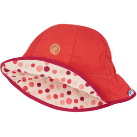 Finkid Dotti Hat Kids cranberry/pebbles red